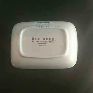 "Other - Rae Dunn Trinket/Soap Dish 5 1/4"" x 3 3/4"""